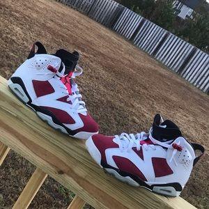 Air Jordan 6 Carmine Size10